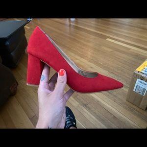 INC International Concepts Red High Heels